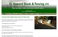 D Howard Sheds and Fencing Ltd
